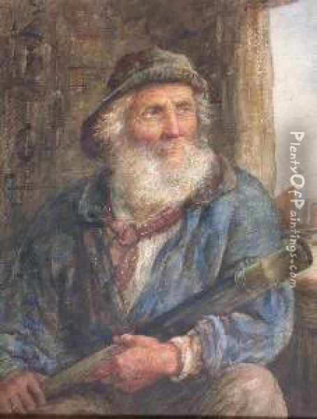 The Old Sea Captain Oil Painting Reproduction By James Drummond