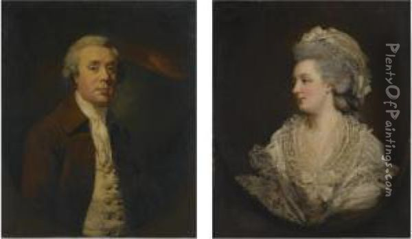 Portrait Of Richard Baylay Of 