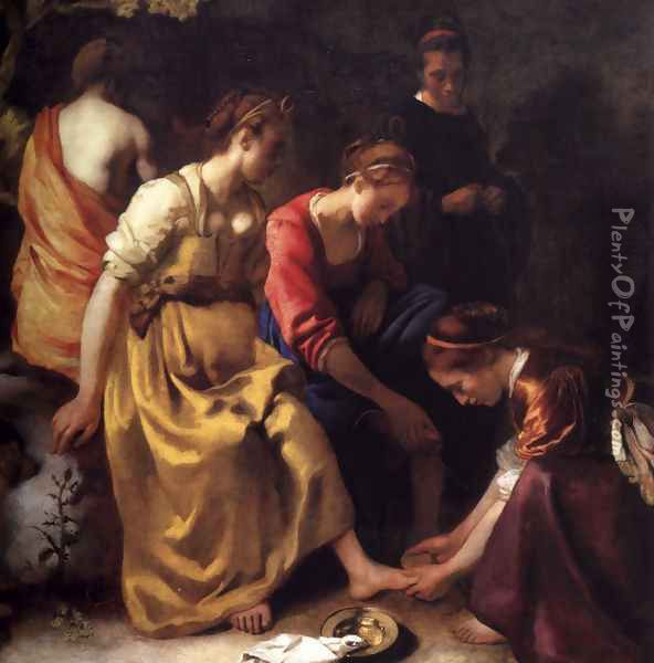 Diana and her Companions 1655-56 Oil Painting - Jan Vermeer Van Delft