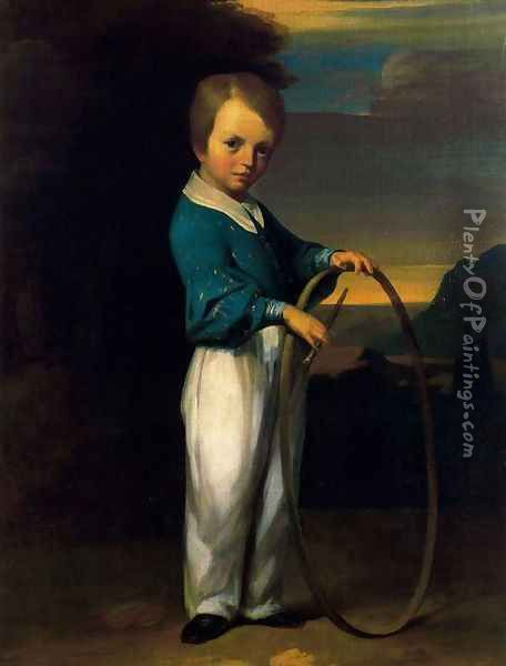 The Child in Cerceau Oil Painting - Jean-Francois Millet