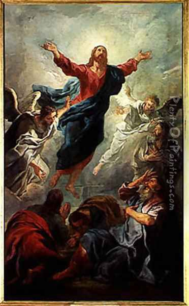 The Ascension, 1721 Oil Painting - Jean Francois de Troy