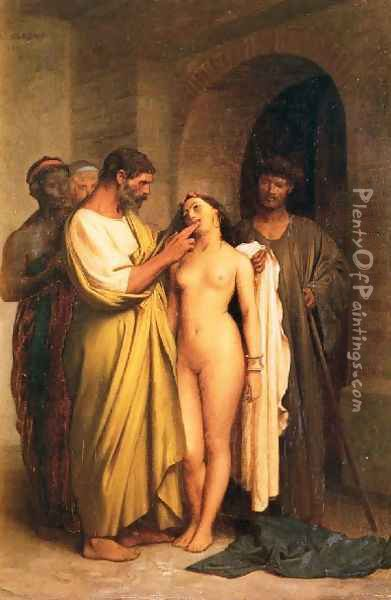 Purchase Of A Slave Oil Painting - Jean-Leon Gerome