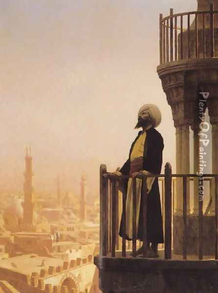 The Muezzin Oil Painting - Jean-Leon Gerome
