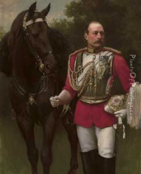Portrait Of Colonel Rowland John