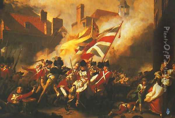 Death of Major Peirson Oil Painting - John Singleton Copley