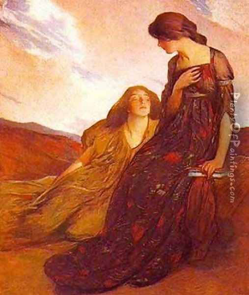 Memories Oil Painting - John White Alexander