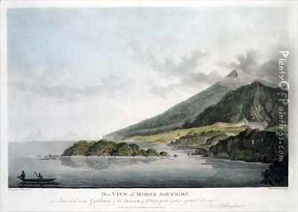 View of Morne Soufrire in the Island of St. Vincent Oil Painting - Joseph Billinghurst