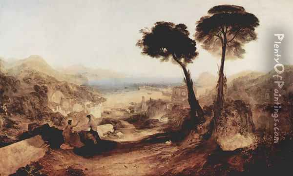 The bay of Baiae, with Apoll and the Sybille Oil Painting - Joseph Mallord William Turner