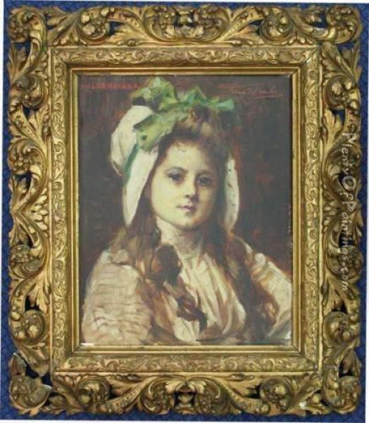 Hollandiane Oil Painting - Leon Herbo