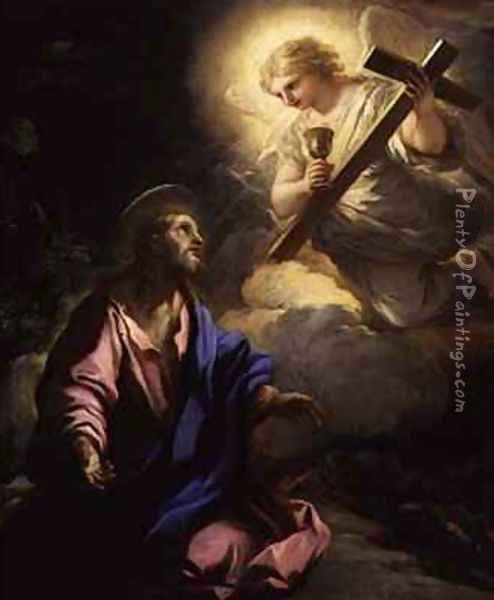 The Agony in the Garden Oil Painting - Luca Giordano