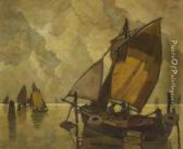 Fischerboote In Der