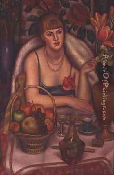 Supper Oil Painting - Mark Gertler