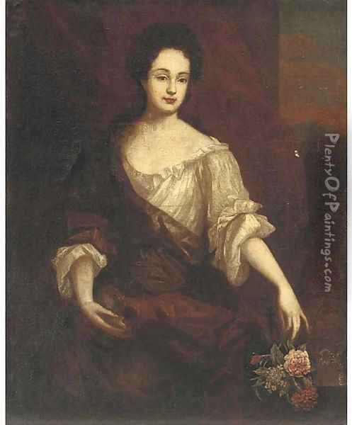 Portrait of a lady 2 Oil Painting - Mary Beale