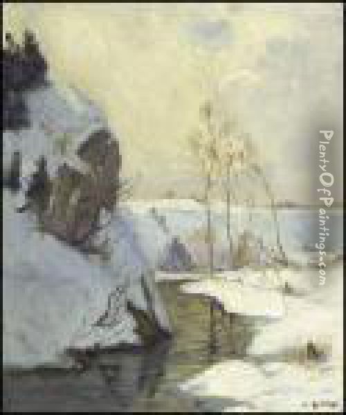 Upper Chaudiere River Oil Painting - Maurice Galbraith Cullen