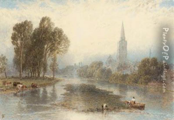 A Collection Of Views Along The 