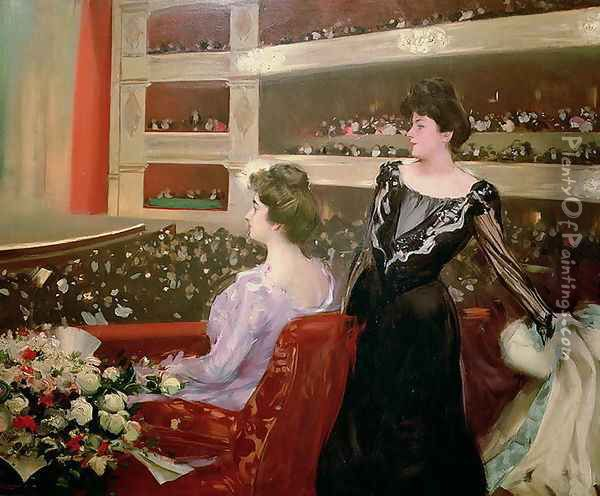 The Lyceum, 1901-02 Oil Painting - Ramon Casas