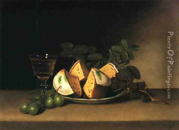 Still Life with Cake Oil Painting - Raphaelle Peale
