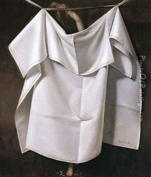 Venus Rising from the Sea - A Deception (or After the Bath) Oil Painting - Raphaelle Peale