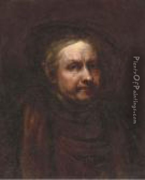 Self-portrait Of The Artist Oil Painting - Rembrandt Van Rijn