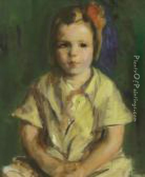 Portrait Of Faith Oil Painting - Robert Henri