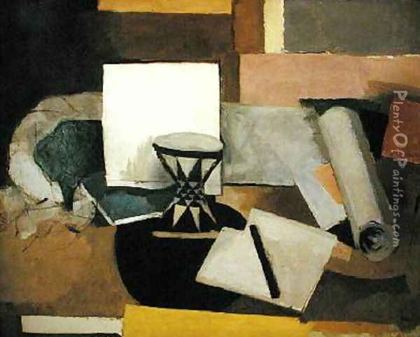 The Diabolo Oil Painting - Roger de La Fresnaye