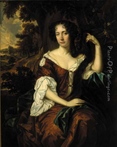Portrait Of A Lady Oil Painting - Sir Peter Lely