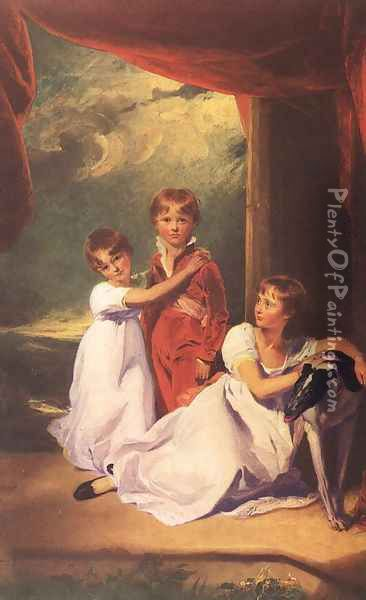 The Fluyder Children 1805 Oil Painting - Sir Thomas Lawrence