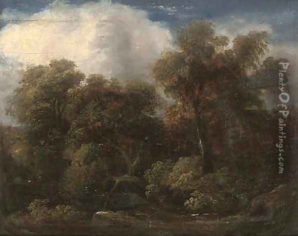 A glade Oil Painting - Thomas Gainsborough