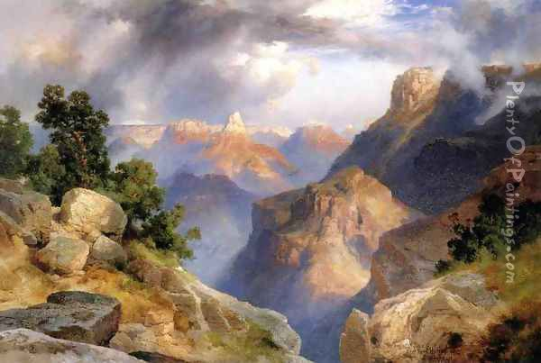 Grand Canyon V Oil Painting - Thomas Moran