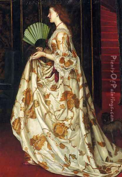 My Lady Betty Oil Painting - Valentine Cameron Prinsep
