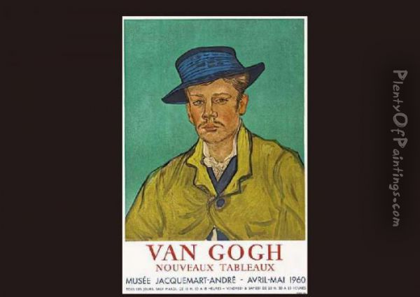 Armand Roulin Portrait Oil Painting - Vincent Van Gogh