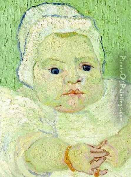 Baby Marcelle Roulin The III Oil Painting - Vincent Van Gogh
