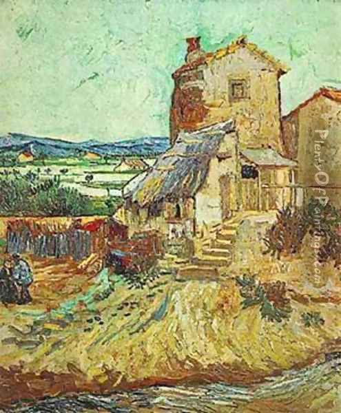 Old Mill 1889 Oil Painting - Vincent Van Gogh