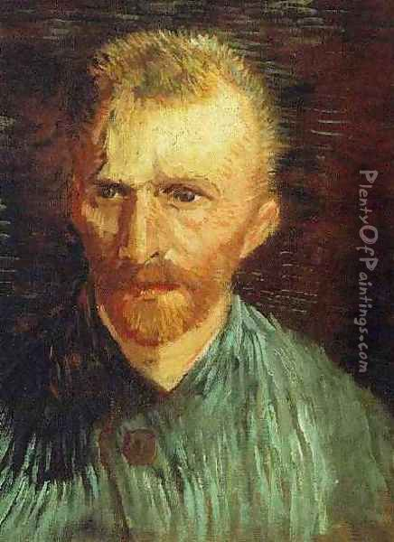 Self Portrait X Oil Painting - Vincent Van Gogh