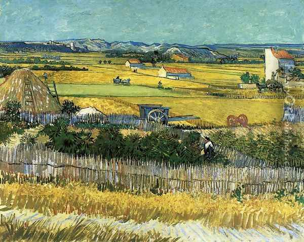 The Harvest Oil Painting - Vincent Van Gogh