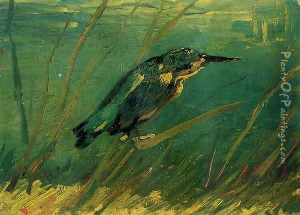 The Kingfisher Oil Painting - Vincent Van Gogh