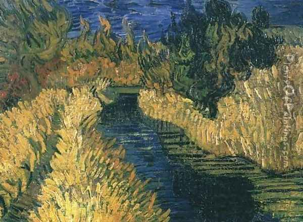 The Little Stream Oil Painting - Vincent Van Gogh