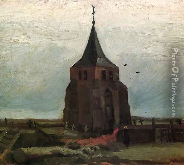 The Old Tower Oil Painting - Vincent Van Gogh
