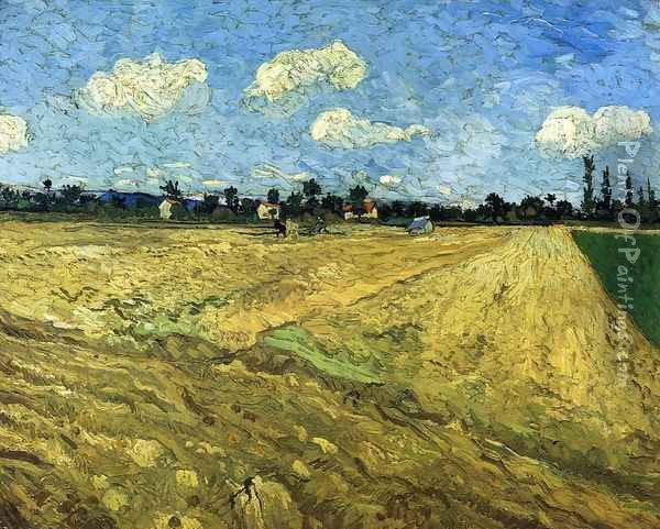 The Ploughed Field Oil Painting - Vincent Van Gogh