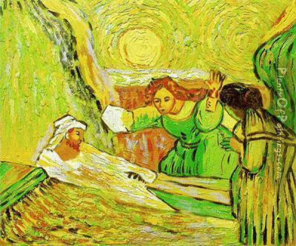 The Raising Of Lazarus Oil Painting - Vincent Van Gogh