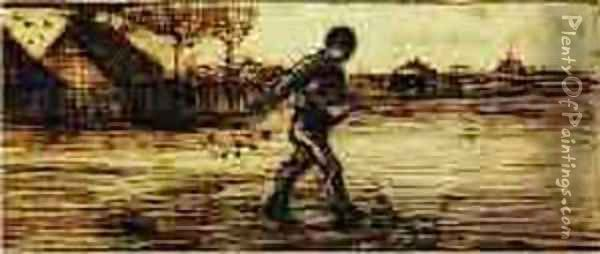 The Sower 3 Oil Painting - Vincent Van Gogh