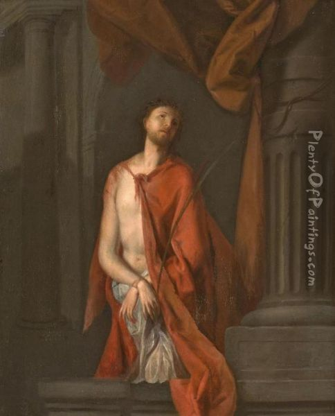 Ecce Homo Oil Painting - Willem van Mieris