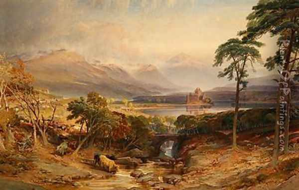 Kilchurn Castle Oil Painting - William Leighton Leitch