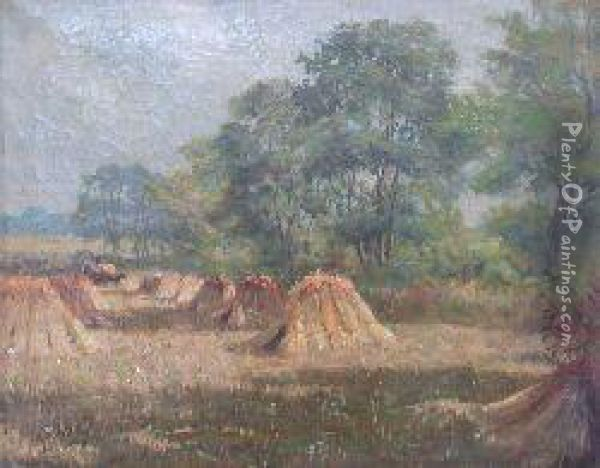 Harvest-time Oil Painting - William Scott Myles