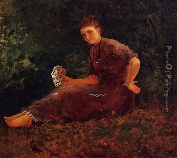 Shall I Tell Your Fortune? Oil Painting - Winslow Homer