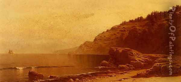 Coast Of Maine Oil Painting - Alfred Thompson Bricher