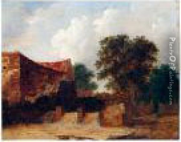 The Watermill Oil Painting - Charles Morris