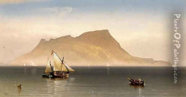 Morning at Gibralter Oil Painting - Charles Temple Dix