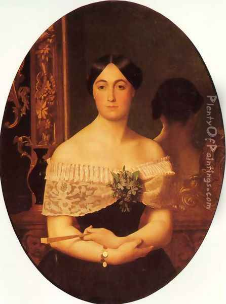 Portrait Of A Lady Ii Oil Painting - Jean-Leon Gerome