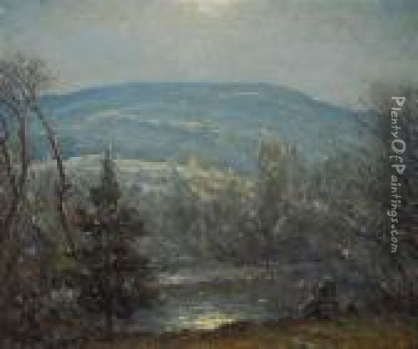 From My Window Oil Painting - Cullen Yates